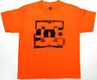 DC Boys T Shirt DC Skate 100 Cotton Orange DC Shoes Brand DC