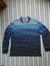 Missoni Long sleeve polo shirt xxxl