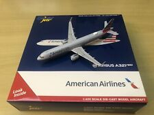 1:400 diecast GeminiJets American Airlines Airbus A321neo N400AN