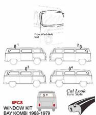 VW T2 Volkswagen Bay Window Bus 1968-1979 rubber seals 6pcs/Kit  front and side