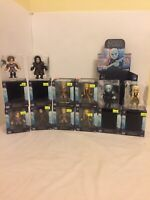 Loyal Subjects  GOT Hot Topic Exclusive Posable Vinyls Lot Of 10+Display Case