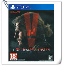 PS4 潛龍諜影 5: 幻痛 中文版 Metal Gear Solid V: The Phantom Pain CHI Konami Action Games