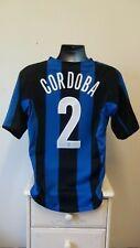 Inter Milan Home Football Shirt Jersey 2004-2005 CORDOBA 2 Medium 39/41