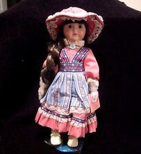 "Marian Yu Designs Limited Edition Victorian Spring Doll 720/3000,15"" Tall"