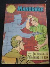 Les mondes mystérieux Mandrake 15 Editions des remparts juin 1963