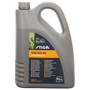 Original STIGA Getriebeöl 5W40 Hydrostat 4 Liter Tuff Torq Öl PARK VILLA Estate