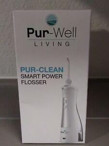 💥Pur-Well Living Pur Clean Smart Power Water Flosser - Teeth Water Pick