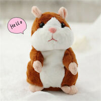 Talking Hamster Mouse Pet Style Cute Electric Plush Speak Toy fits for Kids Gift