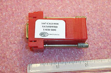 Qty (3) Sat45D9Frd Lds Db-9 to Rj-45 Modular Cable Adapters Nos