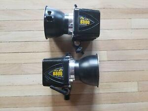 Paul C Buff AlienBees B800 Flash Units (2)