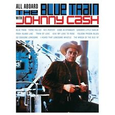 CD JOHNNY CASH ALL ABOARD THE BLUE BLUE TRAIN FOLSOM PRISON BLUES ROICK ISLAND