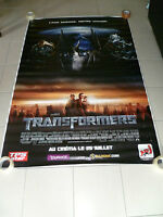 AFFICHE TRANSFORMERS 4x6 ft Bus Shelter  Movie Poster Original 2007