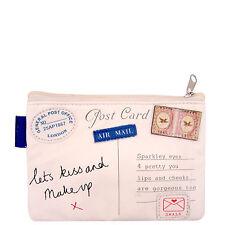 Paper Plane Ladies Womens Vintage Cosmetic Make Up Bag Purse Disaster Designs