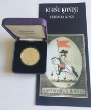 "NEU! 5 EURO PP Silber Munze Lettland (Latvia)  2018 ""Kurland Konini"""
