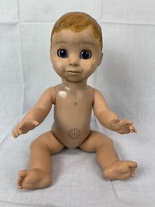 Luva Bella Interactive Talking Baby Boy Doll Moves 22700 Spin Master Soft Face