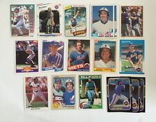 (17) Baseball Card Lot Of Gary Carter - Mets Expos Giants Dodgers