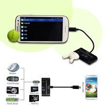 3 in1 OTG Adapter-Verbindungsstück-Kartenleser SD / Micro USB für Android