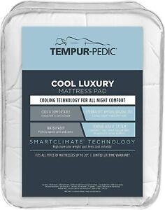 Tempur-Pedic Cool Luxury Mattress Pad, California King