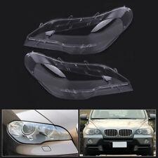 Neuf HQ Set Phare Housse Lentilles Phares BMW E39 Série 5 2000-2003