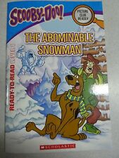 NEW BOOK SCOOBY DOO PICTURE CLUE READY TO READ LEVEL 1 ~ THE ABOMINABLE SNOWMAN
