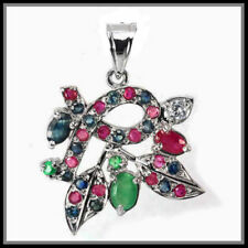 Handmade Emerald Sapphire Fine Jewellery