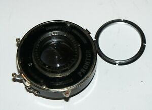 Nice Schneider-Kreuznach Radionar 10.5 cm F4 Medium Format Lens Prontor Shutter