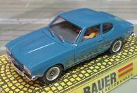 Per H0 Slotcar Racing Modellismo Ferroviario Ford Capri 1700 Gt Di Bauer IN Conf