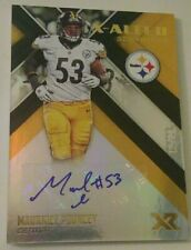 2017 Panini XR X-Alted MAURKICE POUNCEY AUTOGRAPHED #12/20 Pittsburgh Steelers