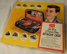 NEW IN BOX - 1960s SEARS Exclusive ISA 07-11 SUPER SPY ATTACHE CASE Secret Agent