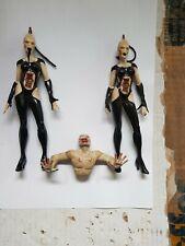 "Neca 7"" Hellraiser Cenobite ""Wire Twins"" and ""Torso"" horror action figures"