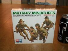 WW#2, JAPANESE ARMY INFANTRY- Military Miniatures,TAMIYA Plastic Model Kit, 1:35