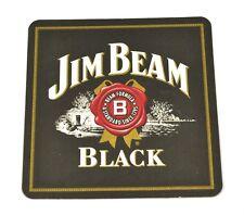 Jim Beam Black Borbón Whisky Posavasos de Cerveza Base Coaster EE.UU.
