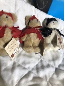 Boyds Bears Lil' Tricks Devil #567978-3 Mini Plush Devil Set Of 3