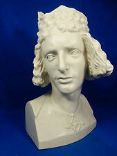 "Bella Rosenthal Porcellana Busto ""Bamberger Reiter"" progetto G. Oppel 1564 1939"