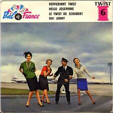 "LONG CHRIS & DALTONS / KINGS OF TWIST ""PEPPERMINT TWIST"" 60'S EP BAL DE FRANCE 6"