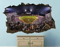 Stadium Baseball MLB wall decals stickers mural home decor for bedroom Art AH617