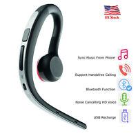 Wireless Headphone Bluetooth Headset Earbud For Samsung Galaxy A50 S10E S9 LG G6