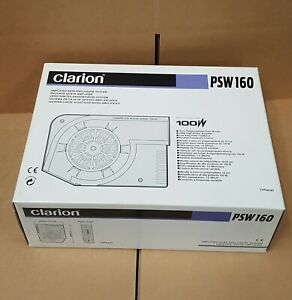 Clarion PSW160 Amplified Subwoofer Enclosure * NEW IN BOX WITH PARTS & MANUAL *