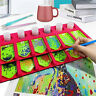 4/6 Grid Diamond Painting Tray Organizer Drill Pens Tools Art Accessories Holder