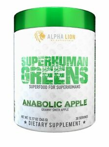 Alpha Lion Superhuman Greens (30 Servings) Superfood for Super Humans!