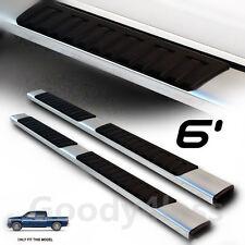 """01-17 Silverado Sierra Crew Cab 6""""  aluminum OE Nerf Bar Side Step Running Board"""
