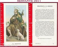1209 SANTINO HOLY CARD S. SAN ROCCO ED G MI ED. G MI. 43 LOGO C CARTA LUCIDA