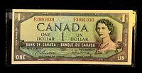 $1 1954 Bank of Canada Note•Serial # E/D3991030  CBNC • Unc • Beattie/Rasminsky