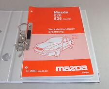 Manual de Taller Mazda 626/626 Familiar Incl. RF Turbo Tipo GW / Gf Von 08/2000
