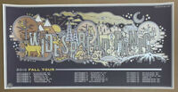 The Half And Half Widespread Panic Fall Tour 2016 Print Limited Edition