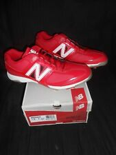 NB New Balance MB4040 Red White Baseball Metal Cleats Shoes Sneakers Size 16