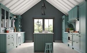 Aldana Painted Shaker Kitchen (Kitchen Stori) Rigid Built units in 27 colours