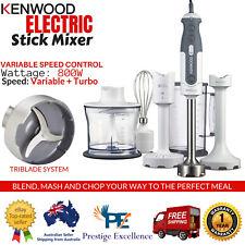 Kenwood Stick Mixer Stainless Steel Electric Hand Blender Chopper Food Processor