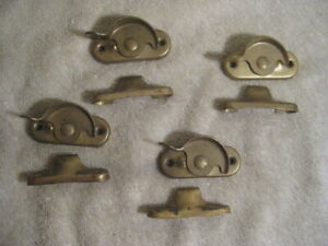 Lot of 4Vintage Window Sash Locks Latches Catches
