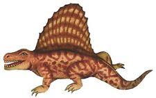 Patch Thermocollant en tissu Reptile Dimetrodon Iron-on patch Reptilian